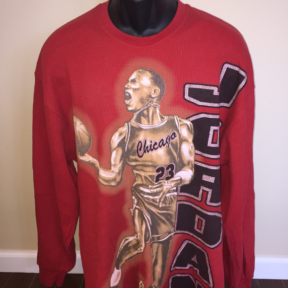 newest bda60 458a1 90s Michael Air Jordan Shirt Chicago Bulls NBA Vtg